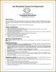 Emt Resume Sample Firefighter Resume Firefighter Resume Emt Resume Examples Modern Bio 29