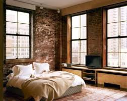 ... Frame of the mirror and the windows bring a sense of homogeneity to the  bedroom [