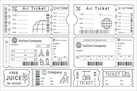 Event Ticket Template Word Boarding Pass Template Word Lovely Ticket Templates Free