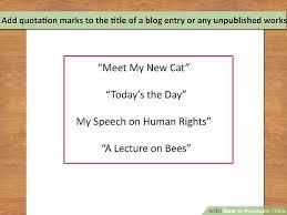punctuation title co punctuation title