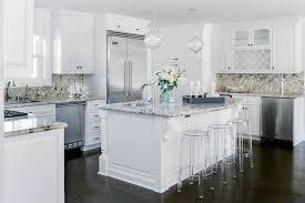 white kitchen cabinets with granite countertops. White Kitchen Cabinets With Tan Granite Countertops A