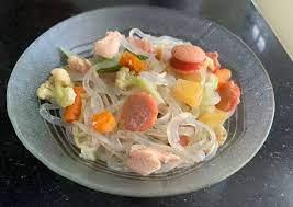 Berdasarkan keterangan dari bams, sebab shirataki pada. Resep Mie Shirataki Untuk Diet Anti Gagal Resepi Lezat