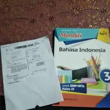Download buku siswa mata pelajaran bahasa indonesia smp mts kelas 7 ( vii ) kurikulum 2013 edisi revisi 2018/2019 (disini). Buku Mandiri Bahasa Indonesia Kelas 9 Ilmusosial Id