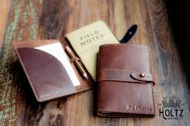 Interior Elegant Pocket Book Design With Personalized Leather