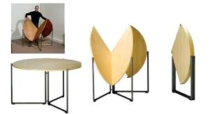 round collapsible table furniture for small spaces affordable ideas must see collapsible round dining table decoration