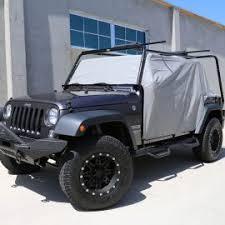 tuff stuff waterproof cab cover grey 07 18 jeep wrangler jk 2 door