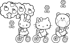 Play as kitty white, decorate her colorful room, and have tons of fun playing one of our many free, online hello kitty games! Coloring Pages Hello Kitty And Friends Hello Kitty Coloring Hello Kitty Colouring Pages Kitty Coloring