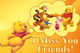 winnie pooh i miss my friends