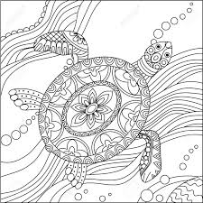 turtle coloring pages. Unique Coloring Adult Coloring Pages Sea Turtles Throughout Turtle For Adults And