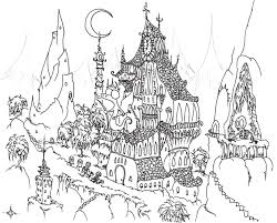 Small Picture Halloween Adult Coloring Pages Coloring Pages Kids