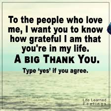 Quotes About Being Grateful Extraordinary Positive Hopeful Quotes To The People Who Love Me I Want You To