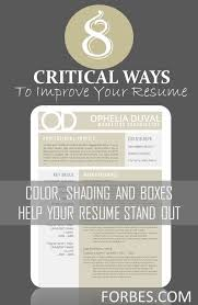 Forbes Resume Tips Resume Tips Punch Up The Design Forbes Com To Purchase