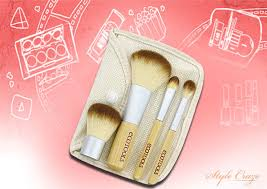 ecotools mineral 5 piece brush set best makeup brush kit in india pinit