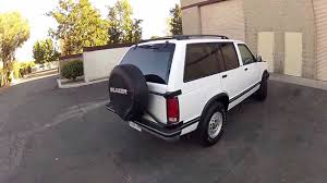 1993 Chevy S10 Blazer 4-door 4x4 Exterior tour walk around - YouTube