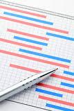 Планово контрольный график проекта Иллюстрация штока изображение  Планово контрольный график проекта Стоковая Фотография
