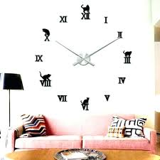 Bedroom Wall Clocks Wall Clock Ideas Medium Size Of Numeral Wall Clock  Ideas With Wall Clock