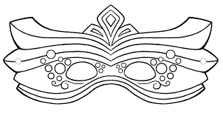 Small Picture Mask Printable Template Coloring Coloring Pages