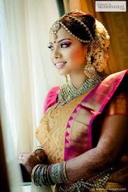 hindu bridal styles on south indian bride wedding ceremony and weddings make up