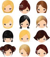 女の子ヘアの おだんごヘアのベクターアート素材や画像を多数ご用意