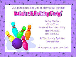 free printable birthday party invitations for girls girl bowling birthday party invitations bowling birthday party