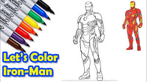 Molecular armor is 15% more effective at reducing power drain, power steal, and power burn effectiveness. Iron Man Mark 50 The Avengers Infinity War Coloring Pages Sailany Coloring Kids Youtube