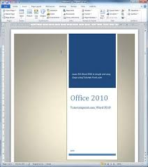 cover page templates for word 2010 cover pages in word 2010