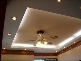 cove ceiling lighting. cove lighting with recessed setup and classy ceiling fan lamp for modern d