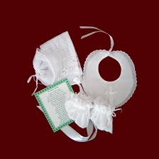 irish christening gift set
