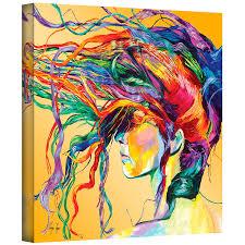 com art wall lynn 001 36x36 w linzi lynn windswept gallery wrapped canvas artwork 36 by 36 inch paintings