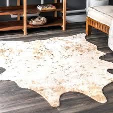 contemporary animal prints cowhide rug faux cow sheepskin rugs australia