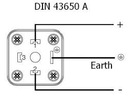 how to wire a standard din43650a 3 or 4 pin connector how to wire a din connector for a solenoid valve call us 0800 808