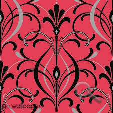 art deco wallpaper in coral pink black on art nouveau art deco wallpaper designs with the 362 best art deco images on pinterest art deco art art deco