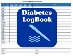 Diabetes Logbook For Adults Kids