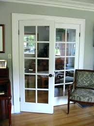 awesome glass interior doors elegant double glass interior doors hollow core white with frosted white interior