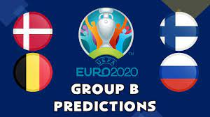 EURO 2020 GROUP B PREDICTIONS - YouTube