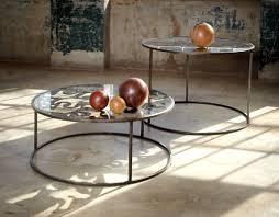 furniture metal. circular metal table furniture design of scrap by bevara house