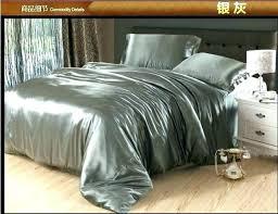 grey duvet cover queen pertaining to invigorate luxury silver bedding grey silk satin set king queen grey duvet cover