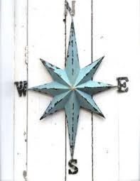 metal nautical star wall art