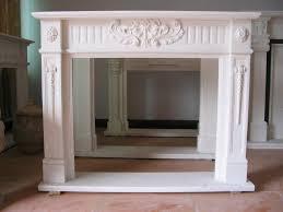 fake fireplace mantel kits