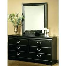 Mirror Finish Bedroom Furniture Furniture Regency Black Finish 6 Drawer  Dresser And Furniture Regency Black Finish . Mirror Finish Bedroom Furniture  ...