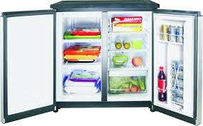 compact side by side refrigerator. Unique Side Amazoncom IGLOO FR551 55 Cubic Feet Side By 2 Door Refrigerator  Freezer Stainless Steel Kitchen U0026 Dining To Compact By I
