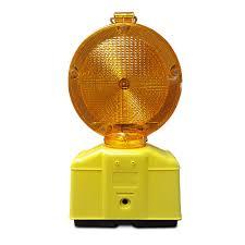 Barrera Led Lamp Oranje Met Sensor Constantknipperen Polvo Bv