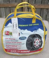 Details About Les Schwab 1535 S Quick Fit Diamond Pattern Tire Snow Chains New