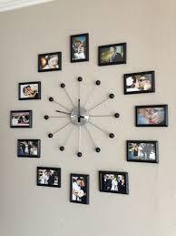 inspirational photo wall clock kit gifts set diy clocks uk ideas