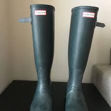 Hunter Shoes | Hunter Boots Womens Tall Matte Original Ivy | Poshmark