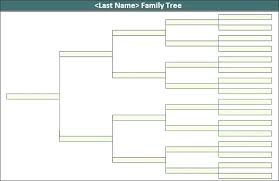 Family Tree Template Free Download Plain Family Tree Template Naomijorge Co