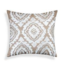 beige decorative pillows. Plain Beige Beige Embroidered Throw Pillow With Decorative Pillows O