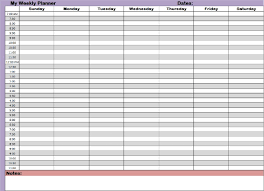 Week Planner With Times How Weekly Planners Can Help You Plan Ahead