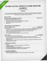 Index Clerk Sample Resume Best Office Clerk Resume Sample DUTV