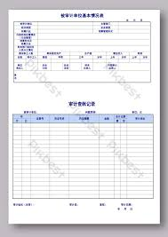 Audit Report Series Template Excel Template Free Download